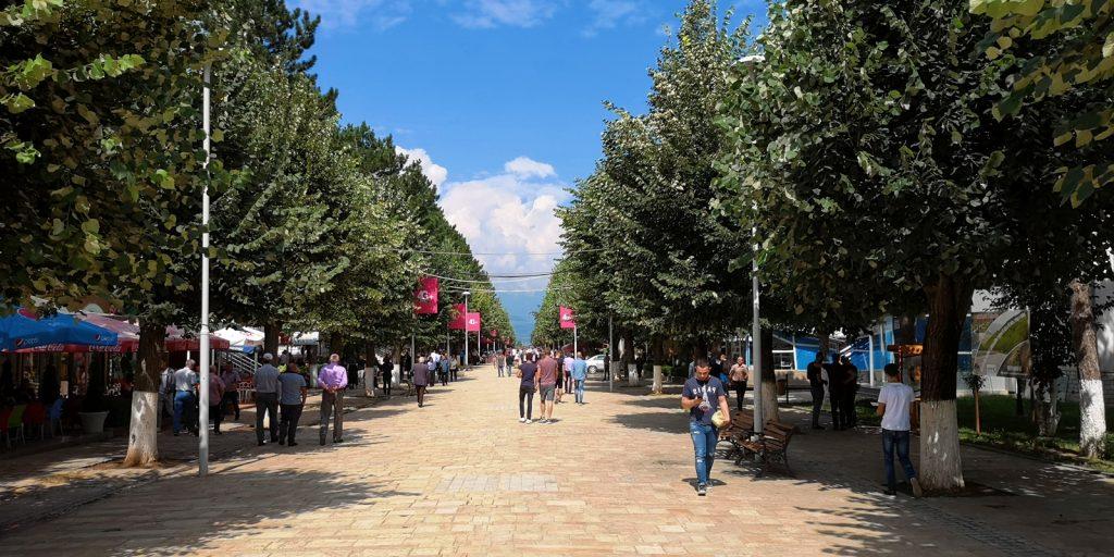 Fußgängerzone, Peshkopia