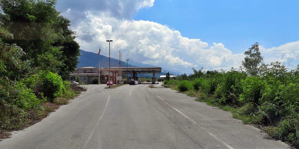 Grenze Albanien - Mazedonien