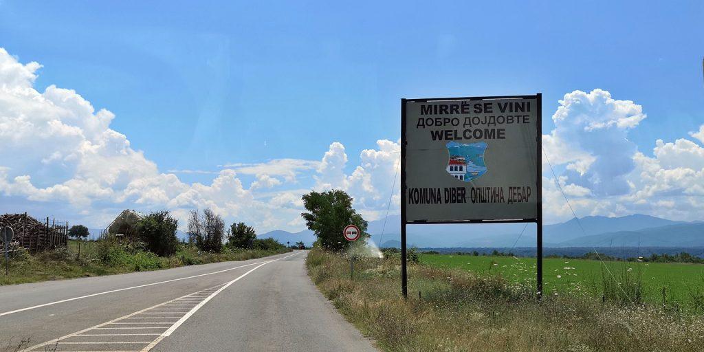 Willkommen in Mazedonien, des 22. Landes des Didimobils