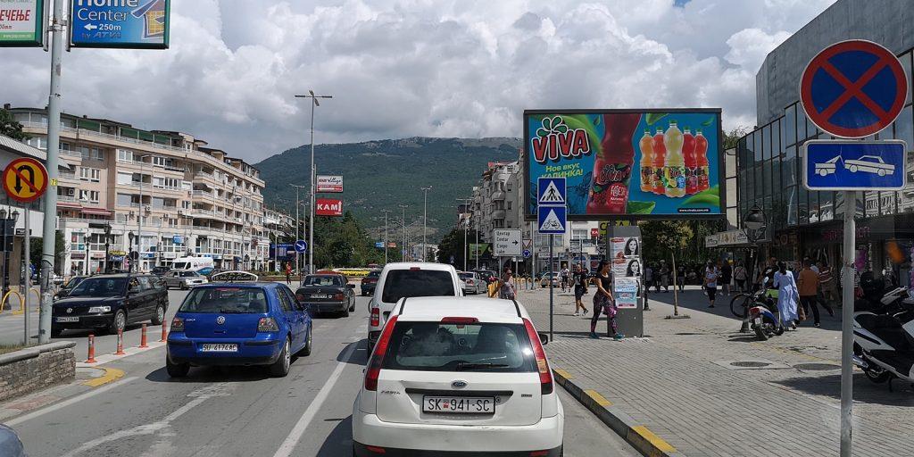 Stadtzentrum von Ohrid