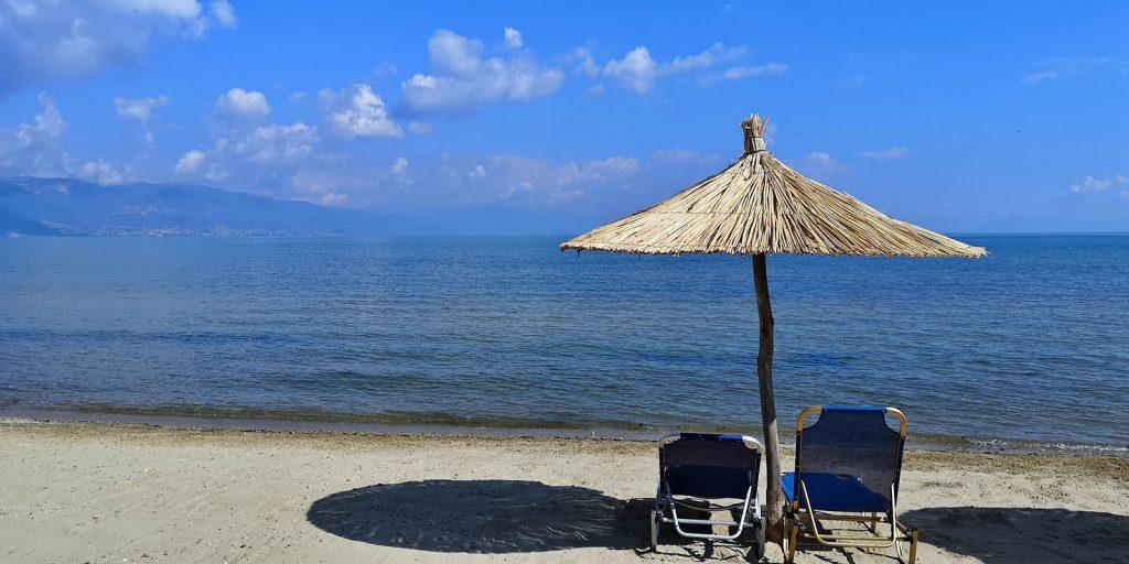 Morgens halb zehn am Ohridsee