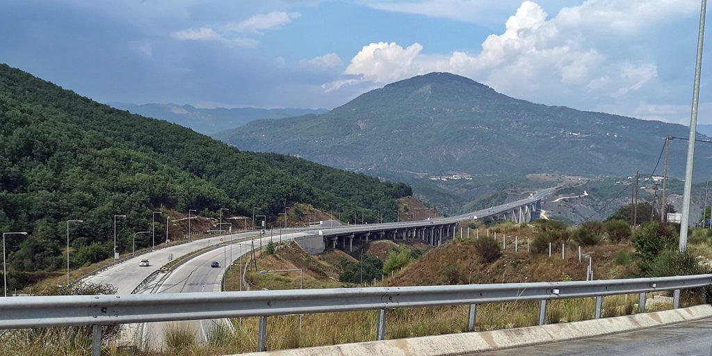 Griechische Autobahn