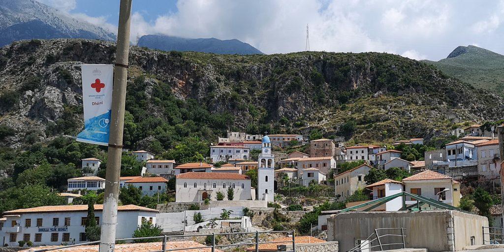 Kirche Agios Spiridonas, Dhërmi, Albanien