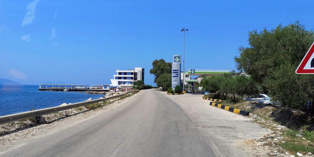 Küstenstraße zwischen Orikum und Vlorë