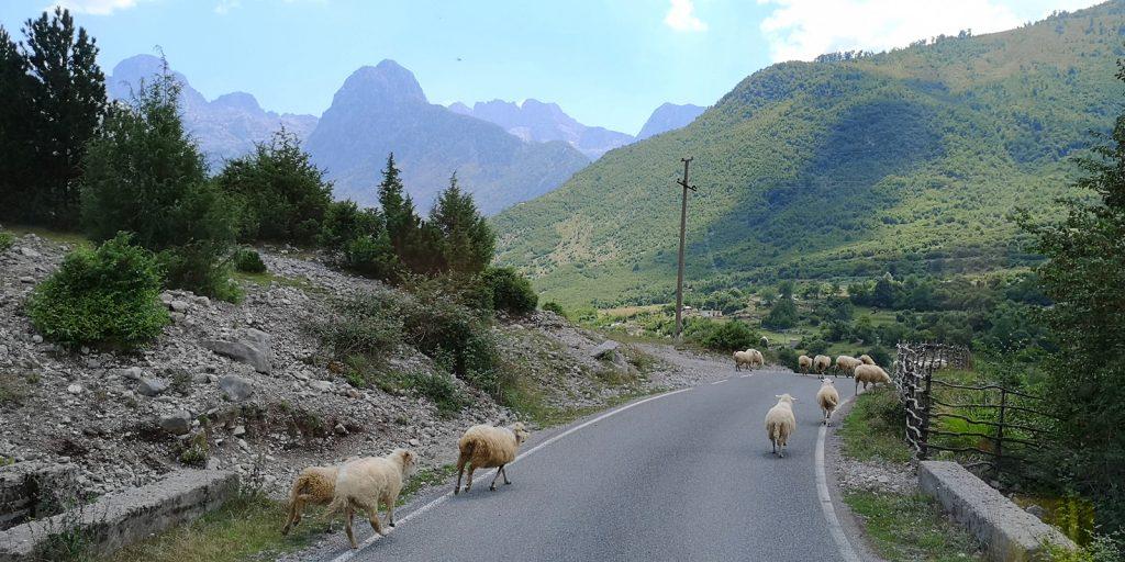 In den Albanischen Alpen