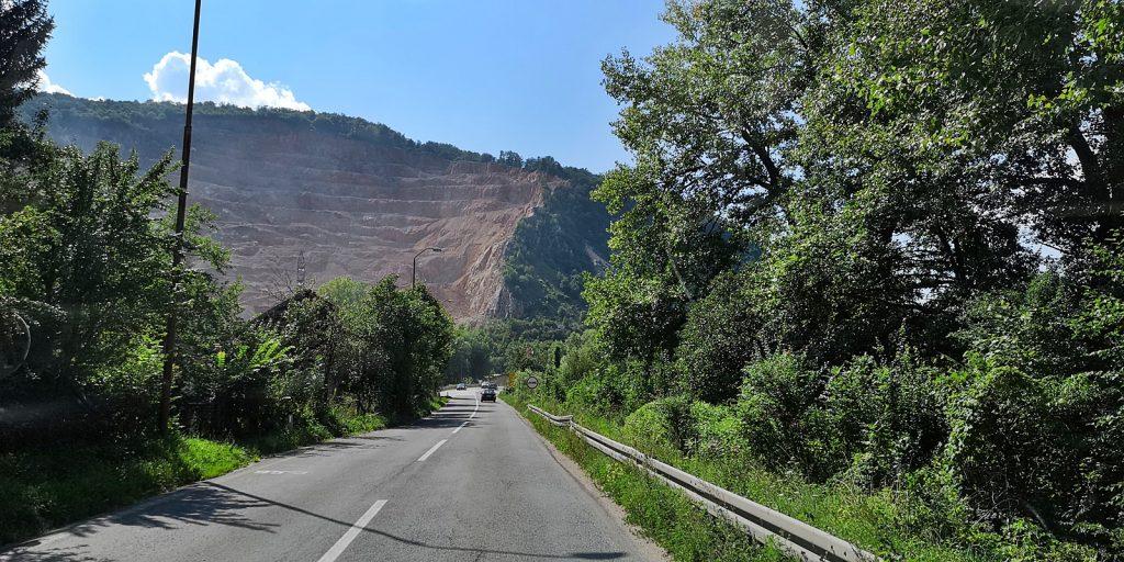Tagebau bei Krupac