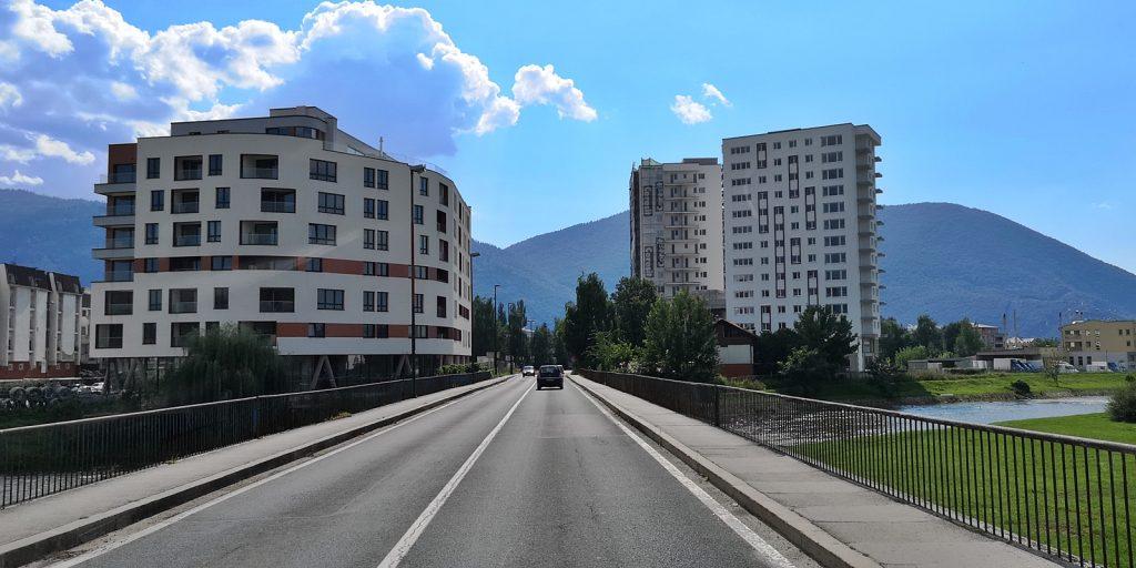 Stadtrand von Sarajevo