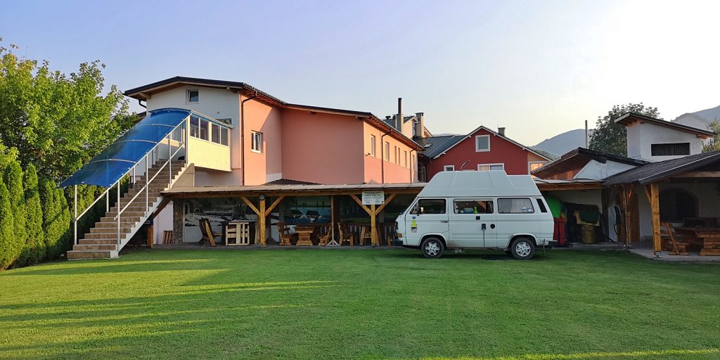 Wohnmobilstellplatz am Motel Carousel, Travnik