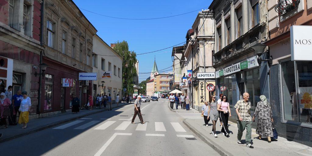 Viel Leben in der kleinen Stadt Travnik