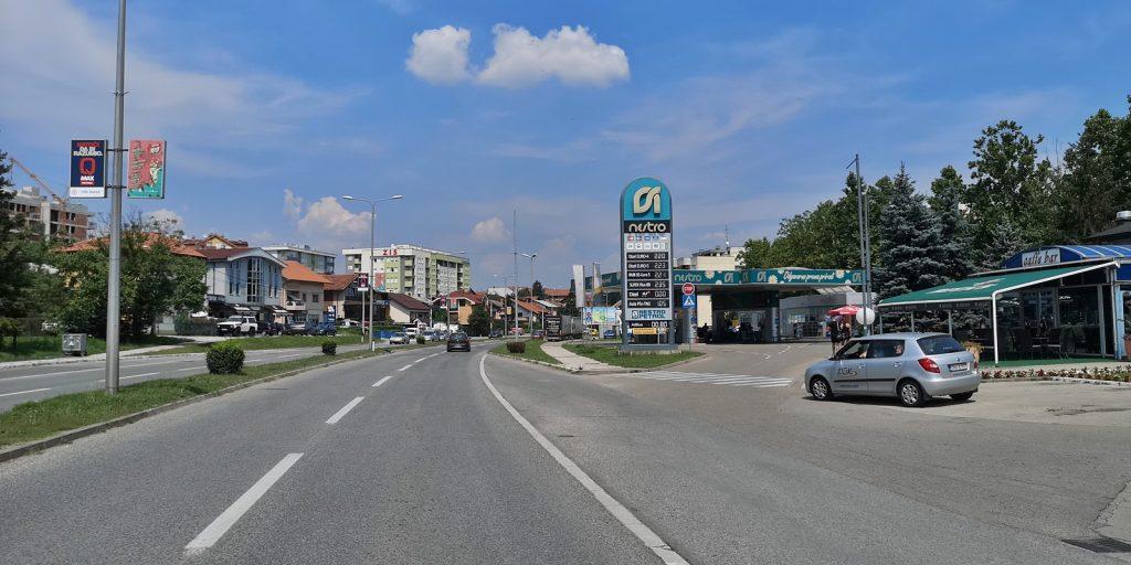 Hauptstraße in Banja Luka