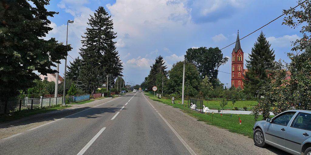 Katholisches Kloster, Rovine