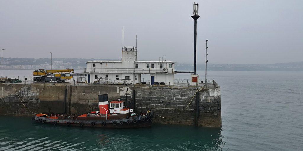 Ankunft im Hafen von Douglas, IOM