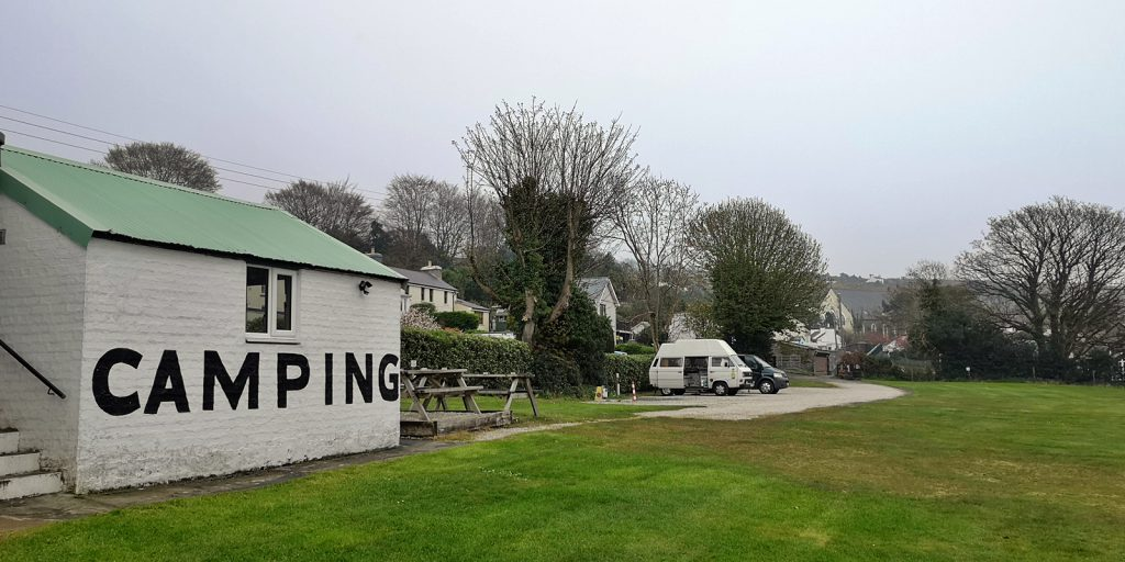 Campingplatz in Laxey