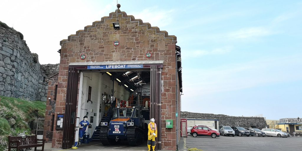 Seenotrettungsstation Peel, Isle of Man