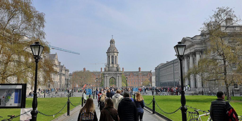 Library Square, Trinity College, Dublin