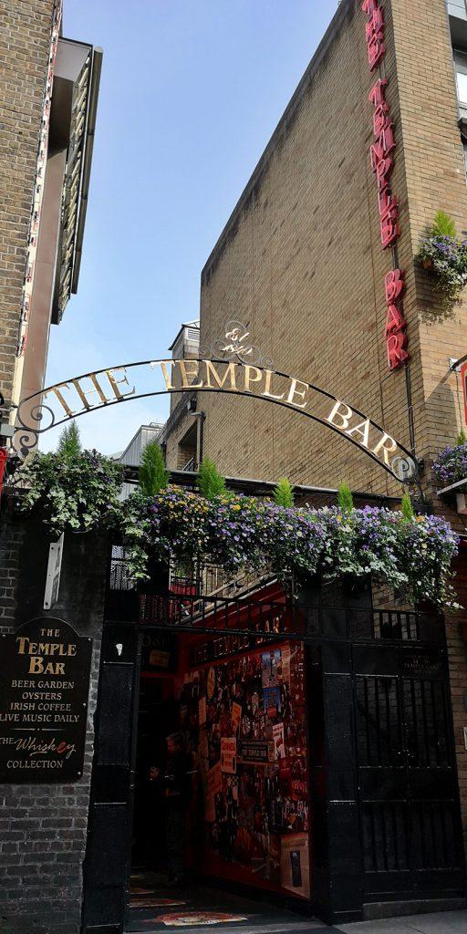 The Temple Bar, berühmtester Pub des gleichnamigen Viertels