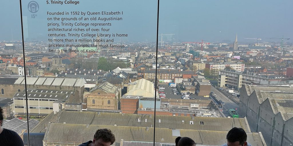 Gravity Bar, Guinness Storehouse, Dublin