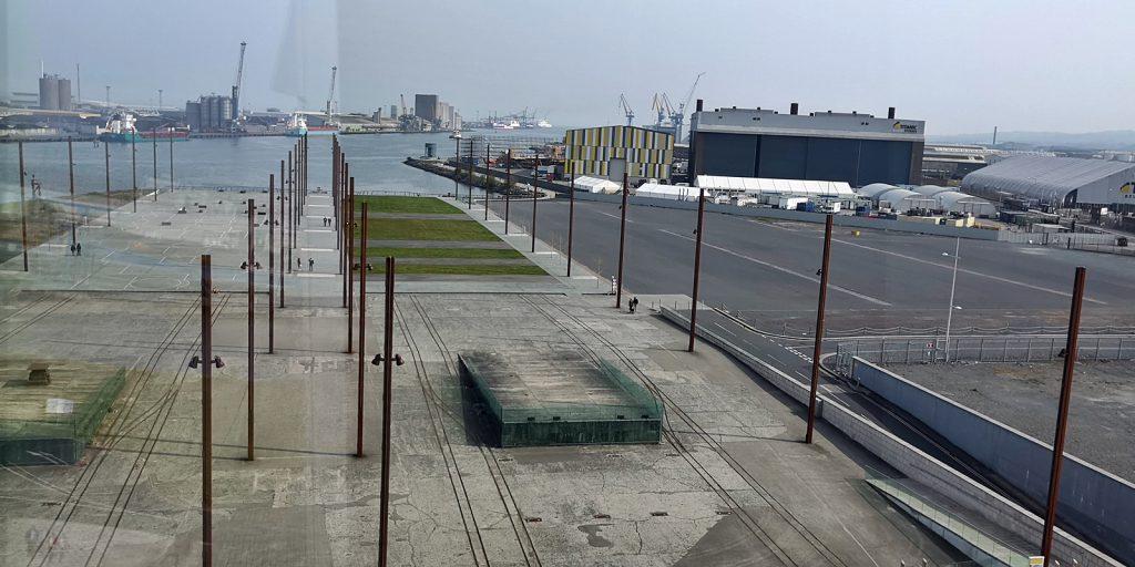 Blick auf Dock 3, in dem die Titanic von 1909 bis 1911 gebaut wurde