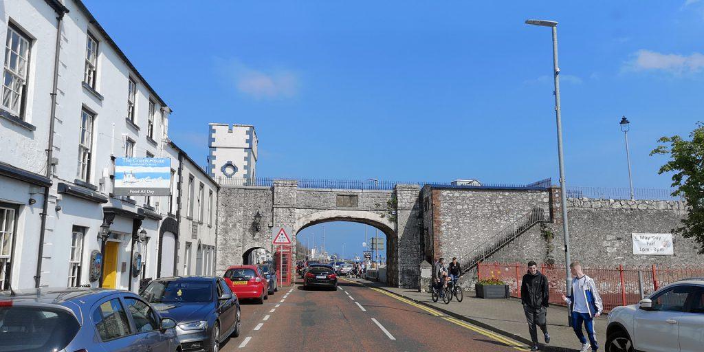 Stadtmauer von Carnlough