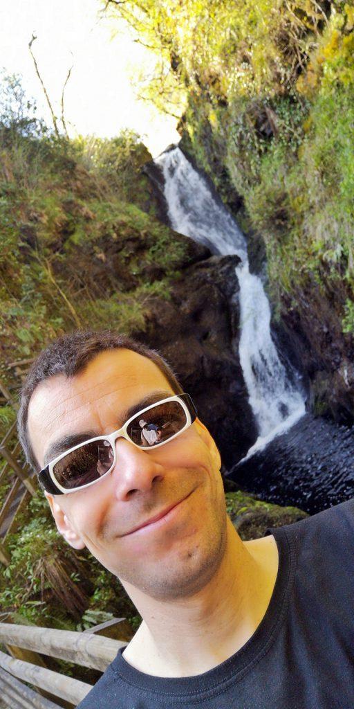 Didi und der große Wasserfall