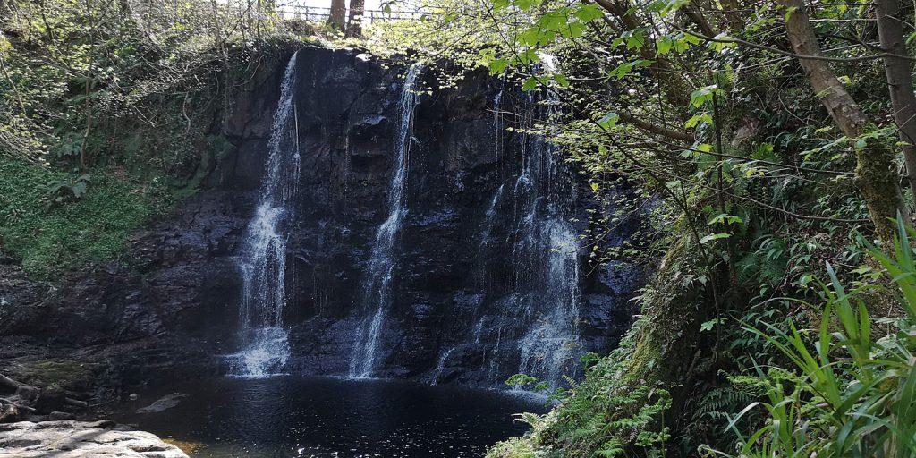 Noch ein Wasserfall, Glenariff Forest Park