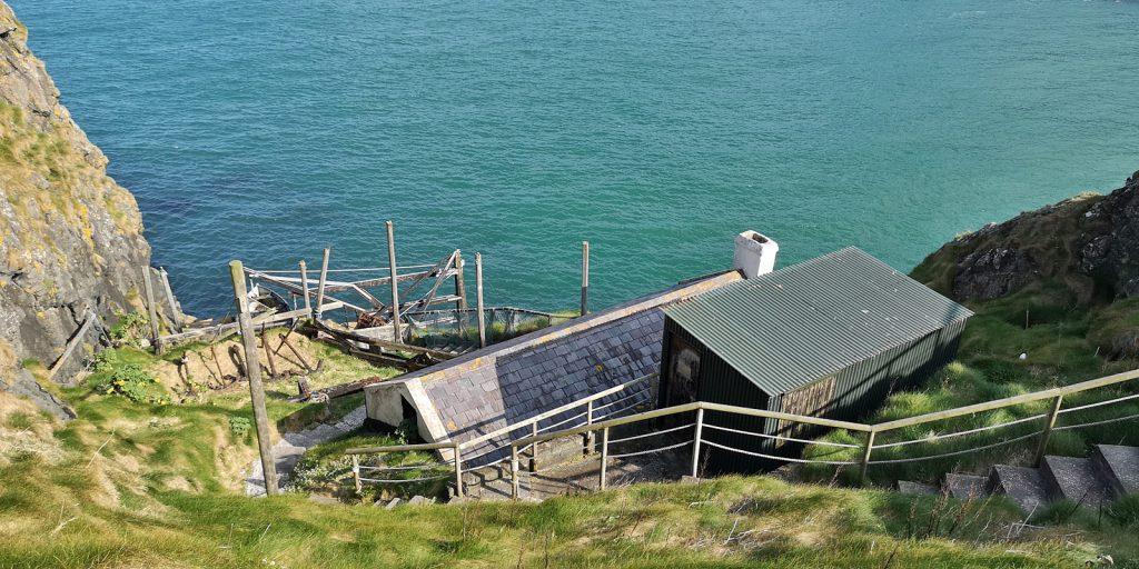 Die Fischerhütte auf Carrick-a-Rede