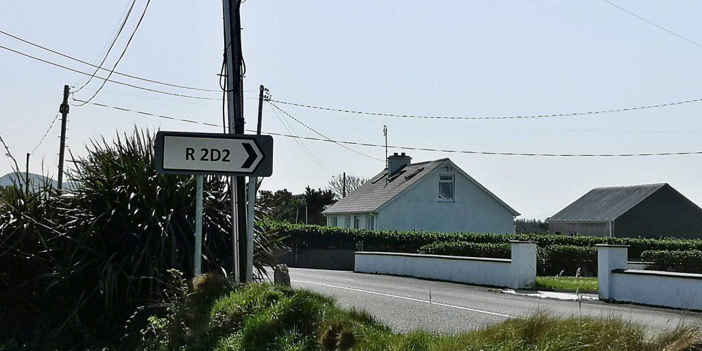 R2D2-Wegweiser, Slievebawn
