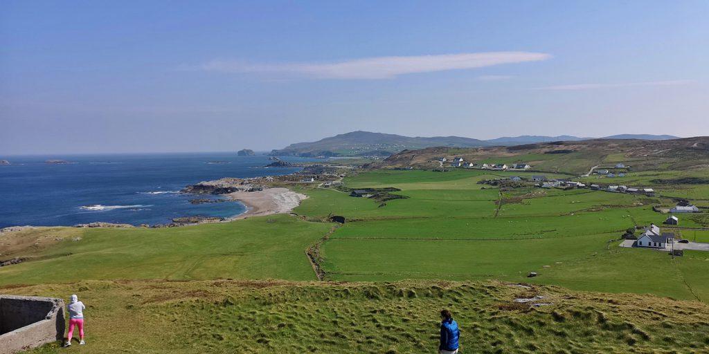 Blick auf die Halbinsel Inishowen vom Malin Head