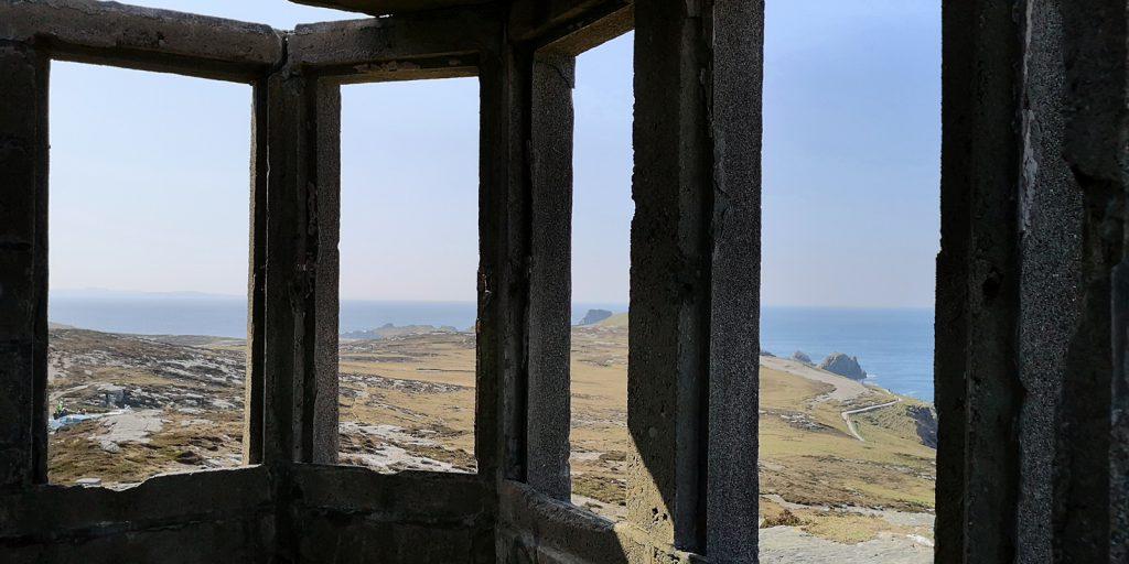 Blick durch die Ruinen, Malin Head