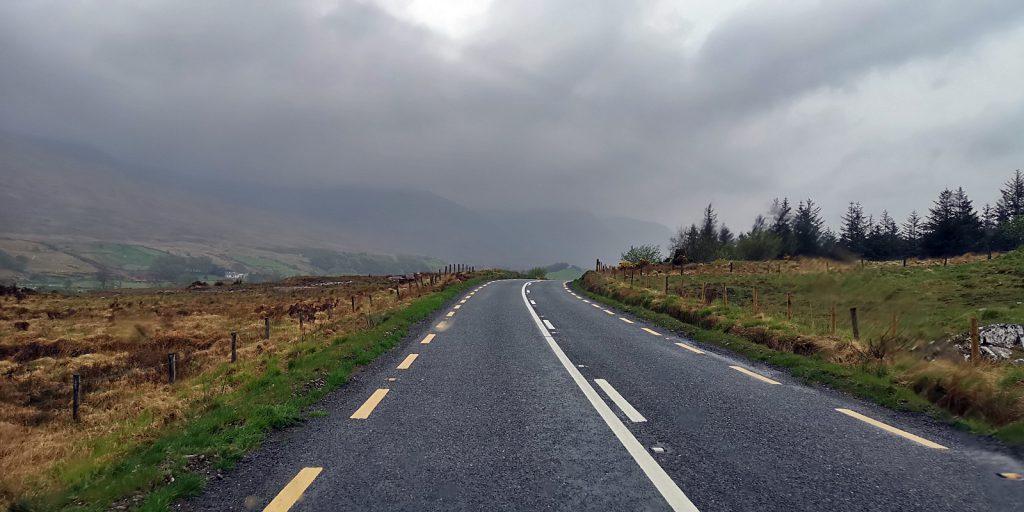 Entlang der N59 durch die Grafschaft Mayo