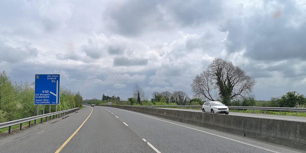 Irische Autobahn M6