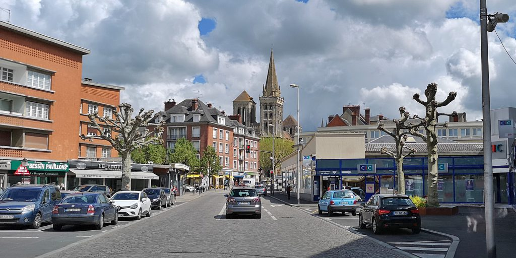 Lisieux mit Kathedrale St-Pierre