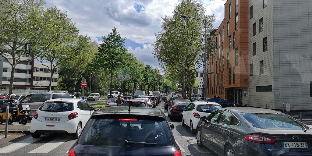 Wie in Dublin: Verkehrschaos in Rouen