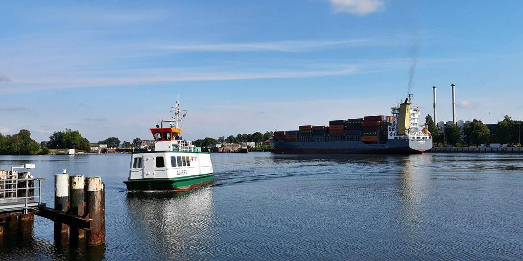 Fähre Kiel-Holtenau - Wik