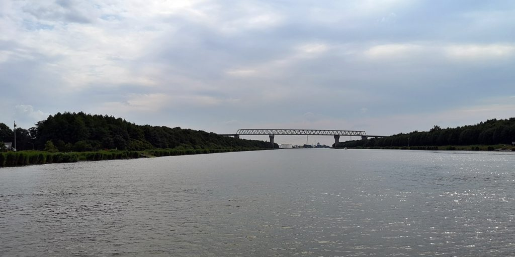 B5 Hochbrücke bei Kudensee
