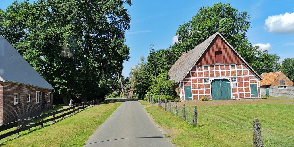 Dorfidylle in Brobergen
