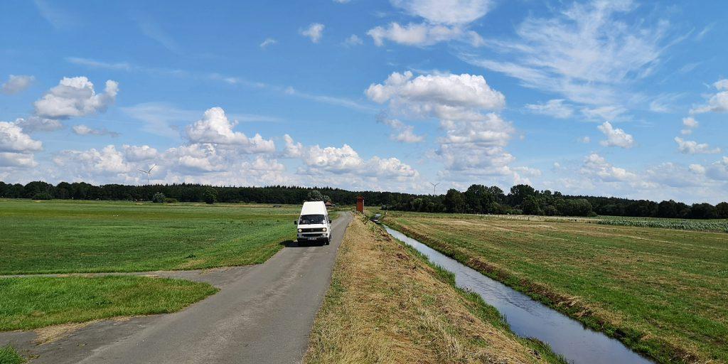 Durch das weite Nichts nach Holland