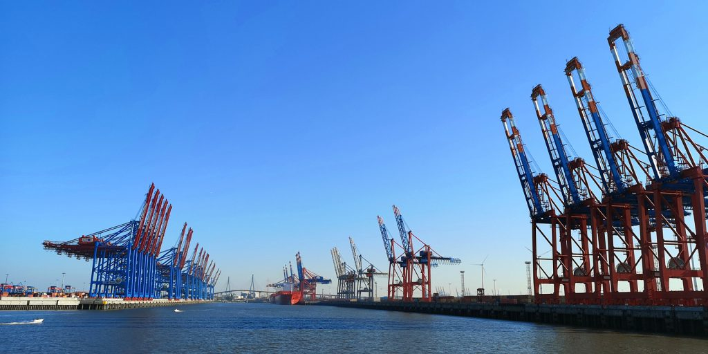 Familienausflug in den Hamburger Hafen. NEIN!
