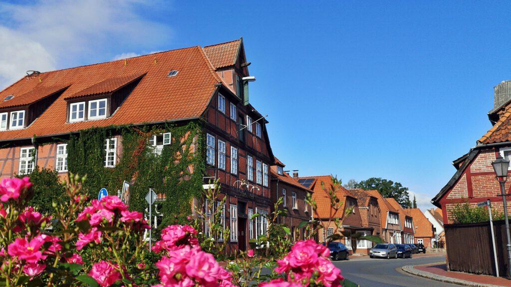 """Bleckede, ehemaliges Gasthaus """"Zum Löwen"""""""