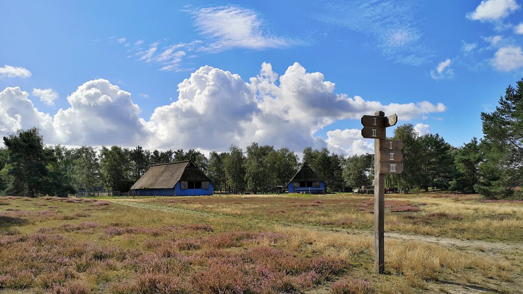 Schafstall in der Nemitzer Heide im Wendland