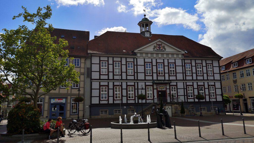 Ratskeller und Rathaus Lüchow