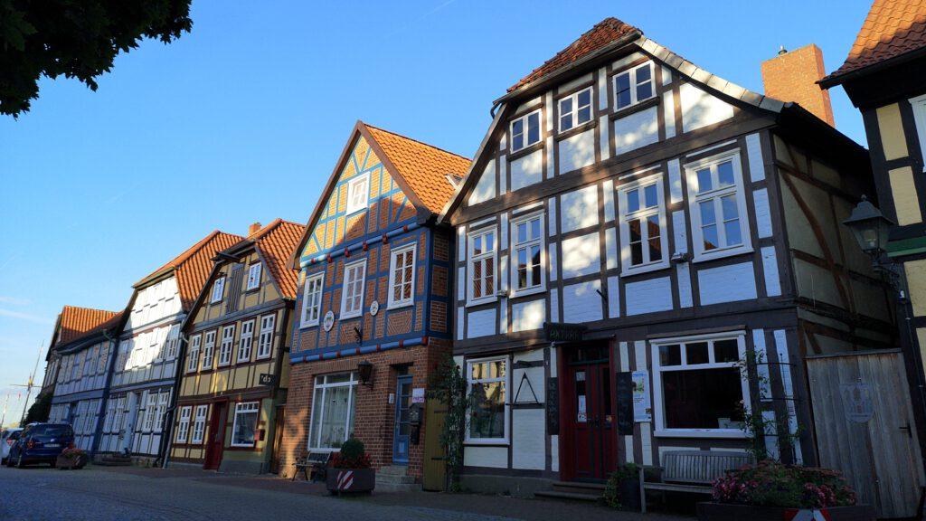 Gebäude-Ensemble in der Hauptstraße, Hitzacker