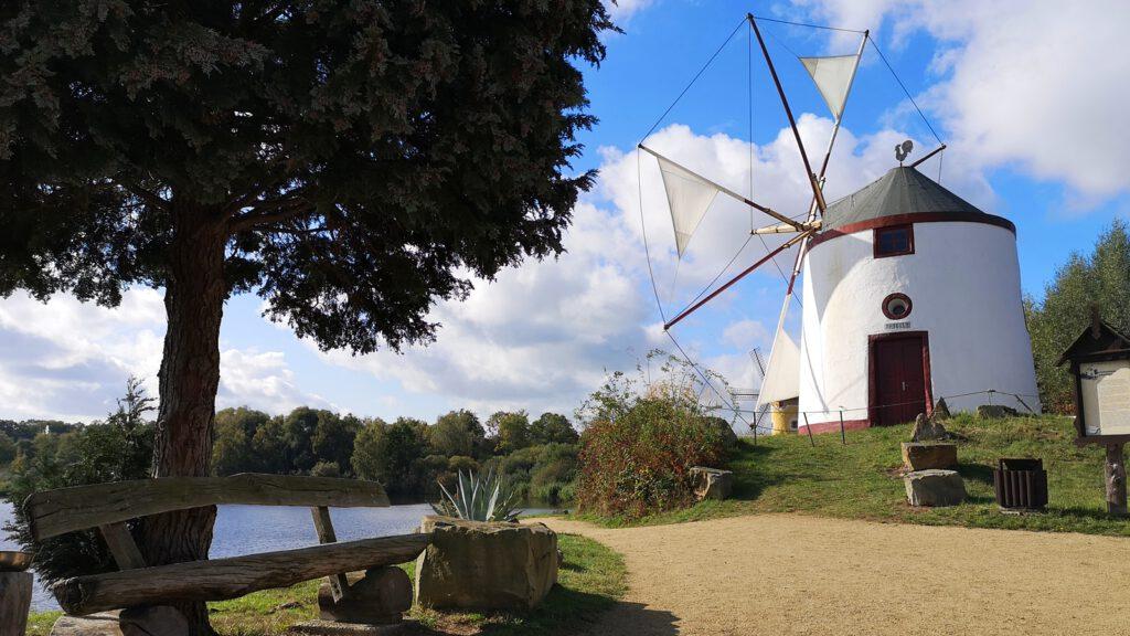 Windmühle Algarve, Portugal