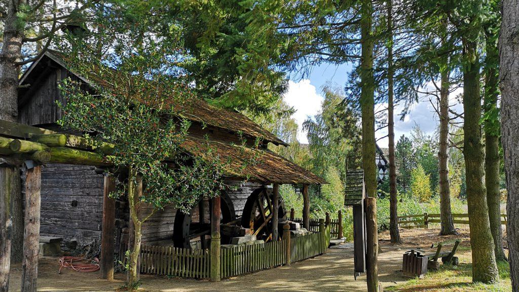 Tiroler Wassermühle im Mühlenmuseum Gifhorn