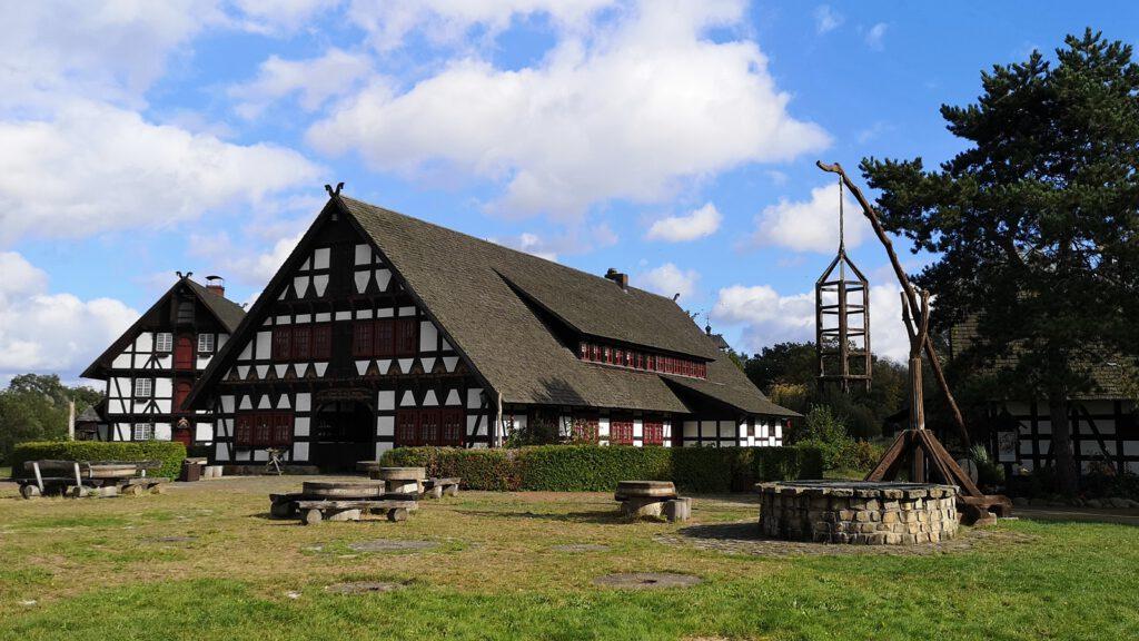 Dorfplatz, Mühlenmuseum Gifhorn