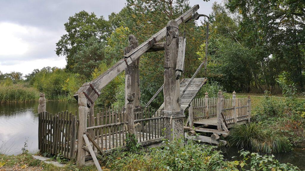Zugbrücke im Mühlenmuseum Gifhorn